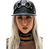 HOLY HARNESS LEATHER HAT