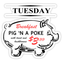 pig in a poke T-Shirts & Hoodies