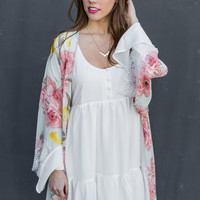 Crazy For You Kimono in Pink