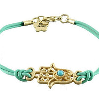Hamsa Hand Bracelet ,can be wear as an Anklets