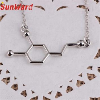 DNA Necklace Dopamine Biochemistry Molecule CATOP Chemical Structural
