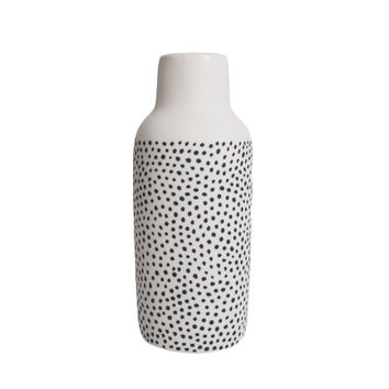 Spotted Bottle Vase