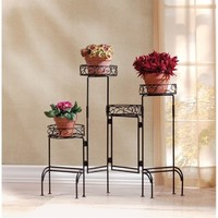 Zingz and Thingz 4-Tier Plant Stand Screen | Jet.com