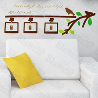 Birds And Branch - Wall Decals Stickers Appliques Home Decor