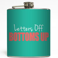 Letters Off Bottoms Up