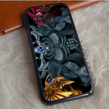Yu Gi Oh Three Monster HTC One M8 Case