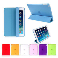 Ultra Slim Smart Cover PU Leather Case Stand For Apple iPad Mini