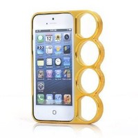 "Marmoter Machine Cut ""Knuckle Case"" for iPhone 5: Cell Phones & Accessories"