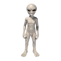 Medium Out Of This World Alien Statue