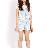 Cuffed Overall Shorts (Kids)