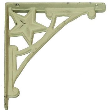 Cast Iron Star Corner Brace -Set Of 2