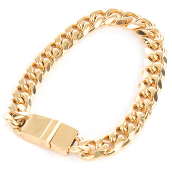 The Brick Bracelet in Gold