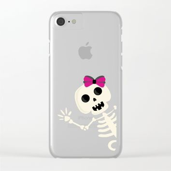 Peek a Boo Clear iPhone Case by UMe Images
