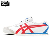 Onitsuka Tiger MEXICO66N Outdoor Authentic Men Shoes Classical Breathable Lightweight Unisex Sneakers D4J2L