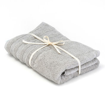 NITORI 21TC Egyptian Cotton Bath Towel - 6 Colors