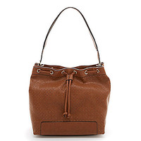 Kate Landry Drawstring Perforated Hobo Bag | Dillards.com