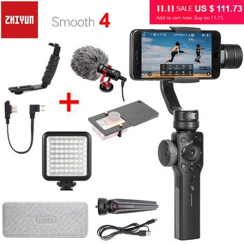 Zhiyun Smooth 4 3-Axis Handheld Smartphone Gimbal Stabilizer for Mobile Phones