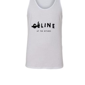Line up the bitches - Unisex Tank