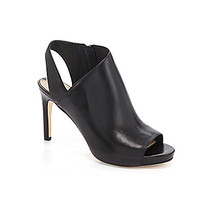 Via Spiga Nariah Peep-Toe Pumps - Black