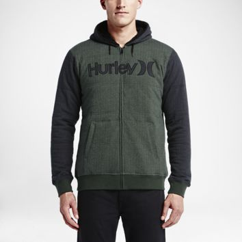 Hurley HB Sherpa Fleece Full-Zip Men's Hoodie