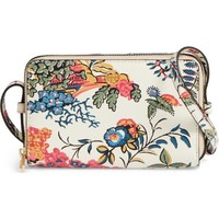 Tory Burch Mini Parker Floral Crossbody Bag | Nordstrom