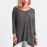 Highway To Heaven High-Low Top In Gray