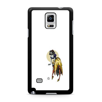 Zombie Princess Abstract Samsung Galaxy Note 4 Case