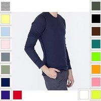 YogaColors Solid Color Light-Weight Fashionable Thermal Shirt T407