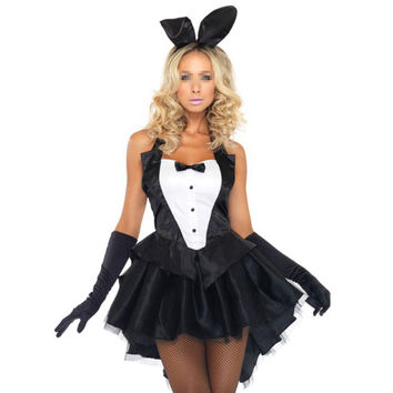 Rabbit Cosplay Sexy Uniform Halloween Lady Bunny   M