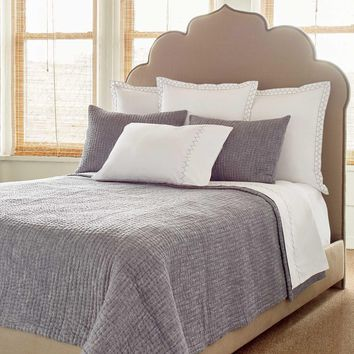 Vivada Woven Gray Coverlet Set