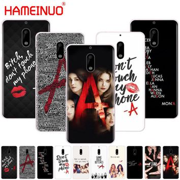 HAMEINUO Pretty Little Liars PLL on sale cover phone case for Nokia 9 8 7 6 5 3 Lumia 630 640 640XL 2018