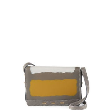 VBH Pulce Small Vitello Leather Crossbody Bag, Neutral
