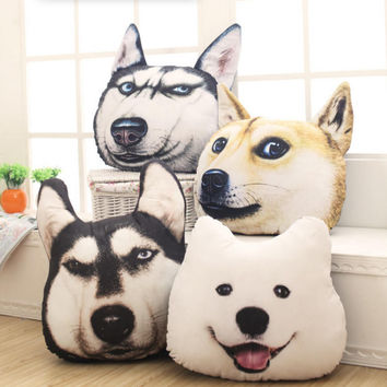 3D Dog Pillow Birthday Gift