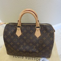 Louis Vuitton Speedy 30  Monogram  not Bandouliere no strap $970 + tax