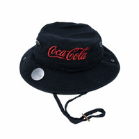 Coca-Cola Canvas Black Boonie Hat | Apparel | Coke Store | Coke Store