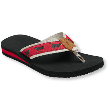 Women's Maine Isle Flip-Flops, Print: Sandals and Water Shoes | Free Shipping at L.L.Bean