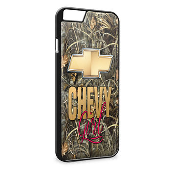 Camo Chevy Girls Chevrolet Logo  for iPhone 6 Plus Case