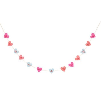 Love Heart Mini Garland