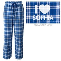 I love Sophia pajama pants