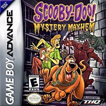 Scooby Doo Mystery Mayhem Nintendo Game Boy Advance