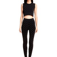 Torn by Ronny Kobo Beverly Pants Polka Dot