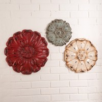 Western Rosette Wall Decor - Wall Decor - Home