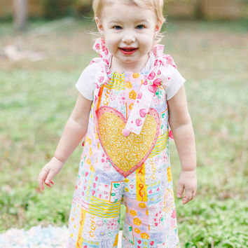 Baby Romper - Sizes 6 months to 18 months - Cake Smash Outfit - Birthday Outfit - Baby Girl Romper
