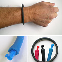 Wristband, urban survival, handcuff keys, cool stuff - SHOMER-TEC