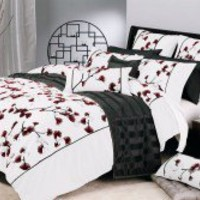 Mikado White by Ultima - Quilt & Doona Covers - Bed Linen