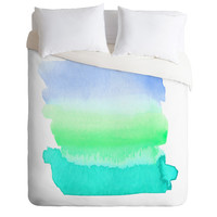 Rebecca Allen Somewhere Beyond The Sea Duvet Cover