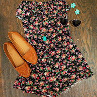 Specialty Floral Romper