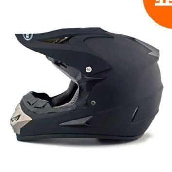Motorcycle Motor Bike Scooter Safety Helmet Model 801 dull black