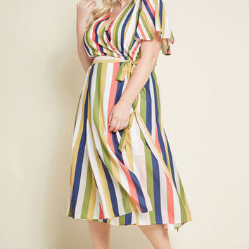 Knowingly Chic Wrap Dress