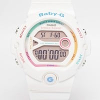 Casio Baby G Bright White Digital Watch